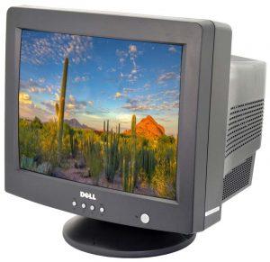 تلویزیون - صفحه نمایش crt