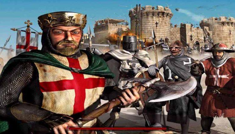 بازی قدیمی قلعه ( جنگ های صلیبی )